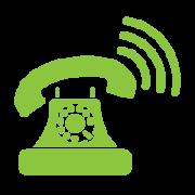 Icono teféfono contacto Línea Verde